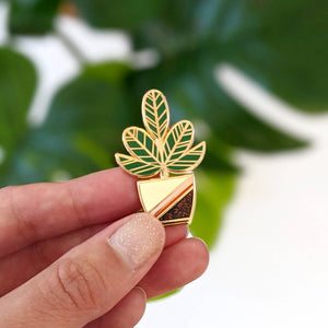 Happy Plant Pin