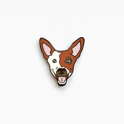 Smiling Pup Pin