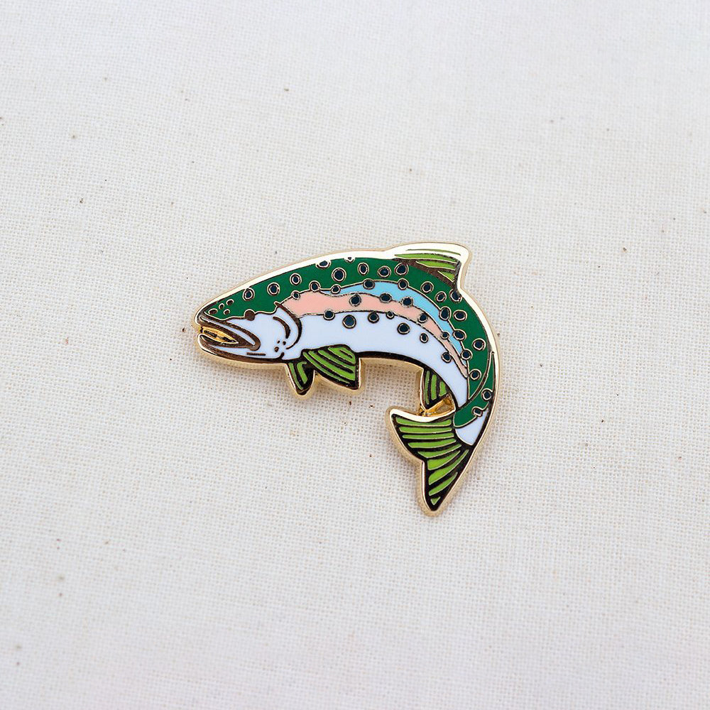 Rainbow Trout Pin