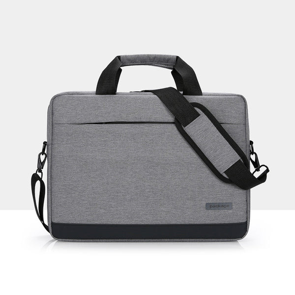 PACKAGE Grey Messenger Bag