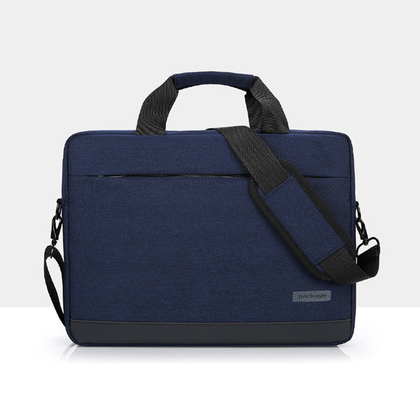 PACKAGE Blue Messenger Bag