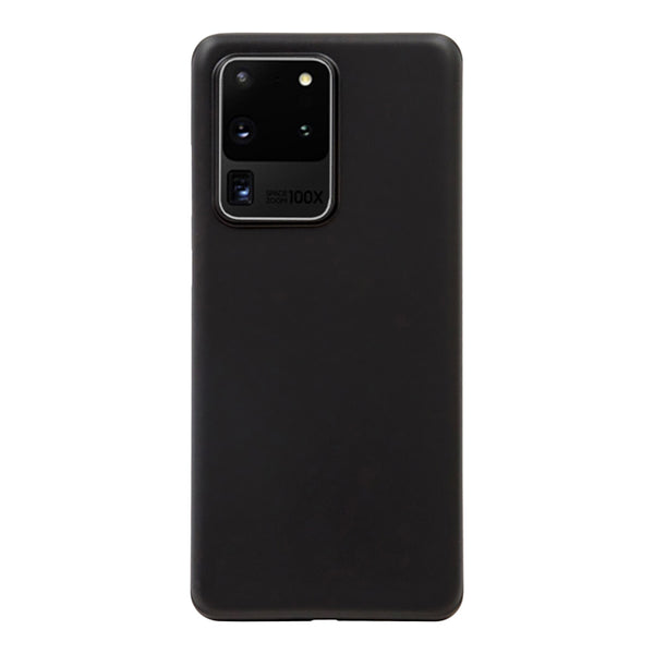 Matte Black Soft Case (Galaxy S20 Ultra)