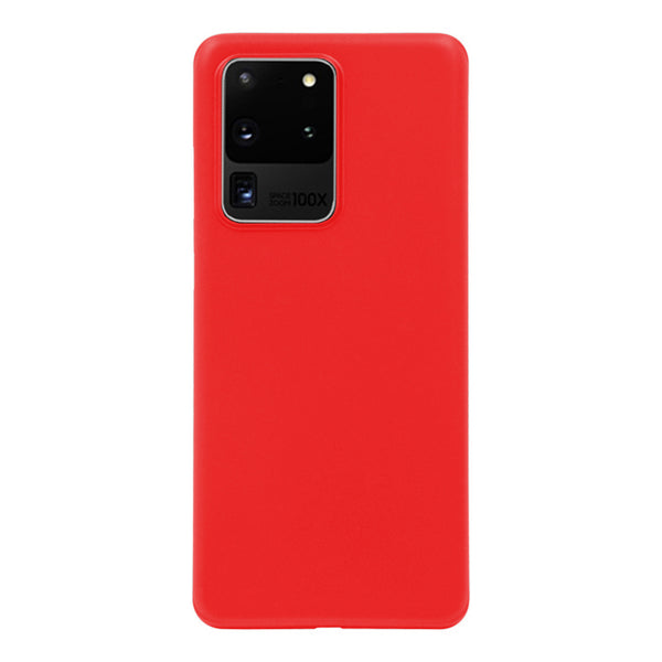 Matte Red Soft Case (Galaxy S20 Ultra)