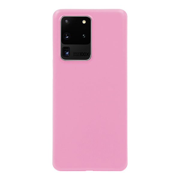 Matte Pink Soft Case (Galaxy S20 Ultra)