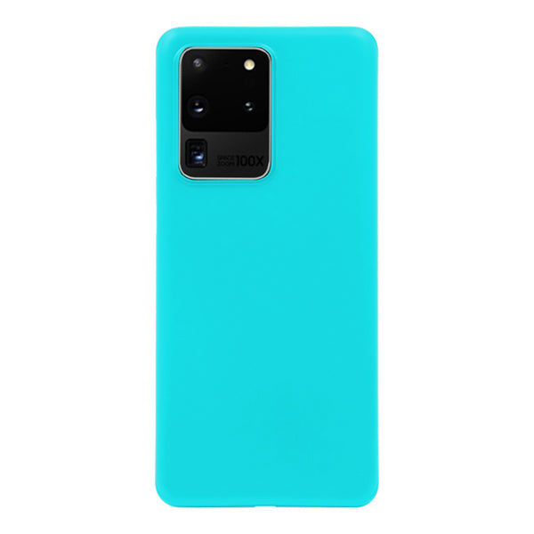 Matte Mint Blue Soft Case (Galaxy S20 Ultra)