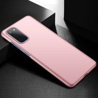 Metallic Rose Gold Hard Case (Galaxy S20+)