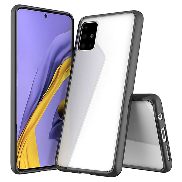 Acrylic Black Case (Galaxy A51)