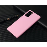 Matte Pink Soft Case (Galaxy Note 20)