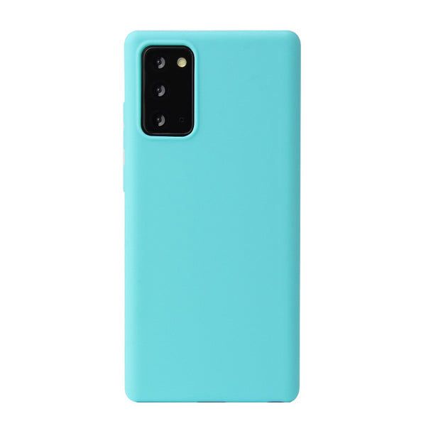 Matte Mint Blue Soft Case (Galaxy Note 20)