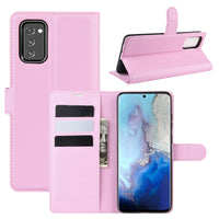 Pink Leather Wallet Case (Galaxy Note 20)