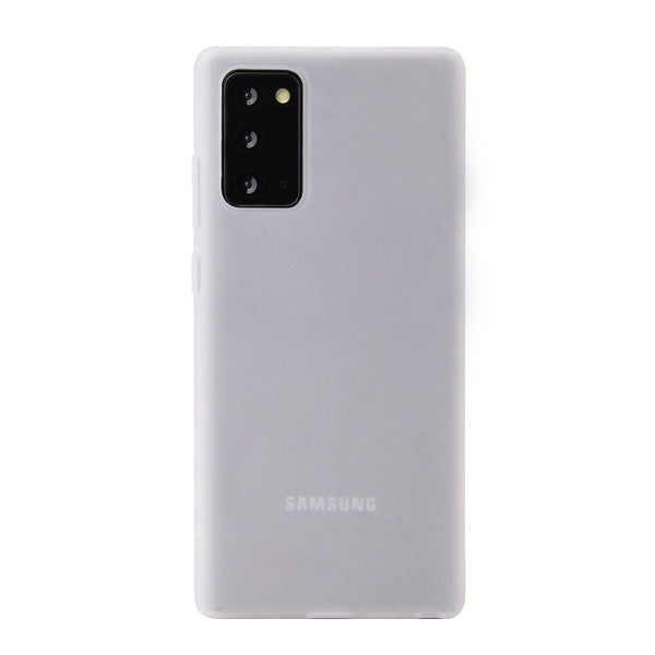 Clear White Soft Case (Galaxy A71)