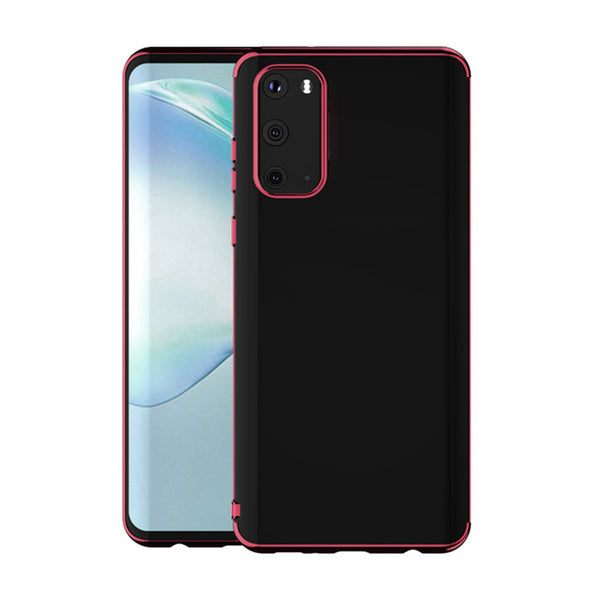 Wine Trim Clear Case (Galaxy A71)