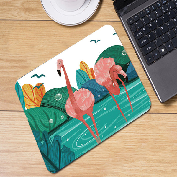 Flamingo Pond Mousepad