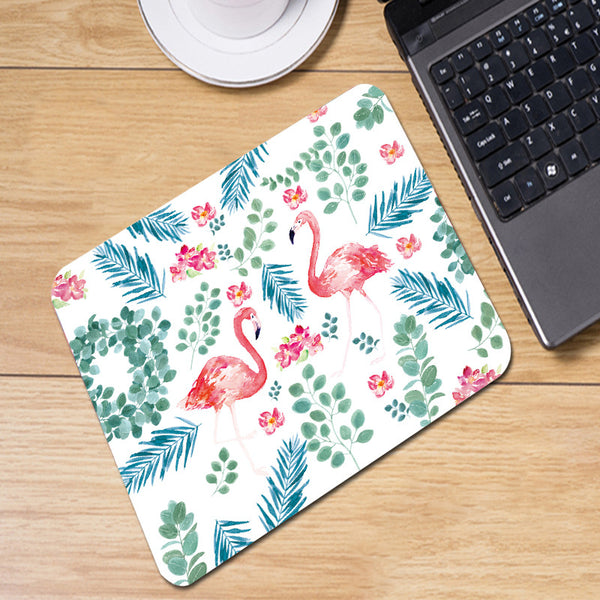 Flamingo Flower Mousepad