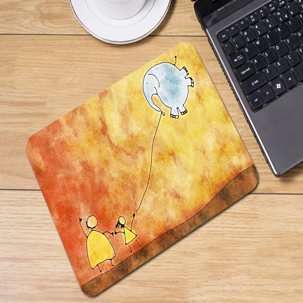 Elephant Kite Mousepad