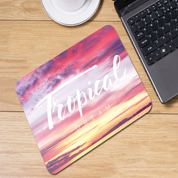 Tropical Dreams Sunset Mousepad