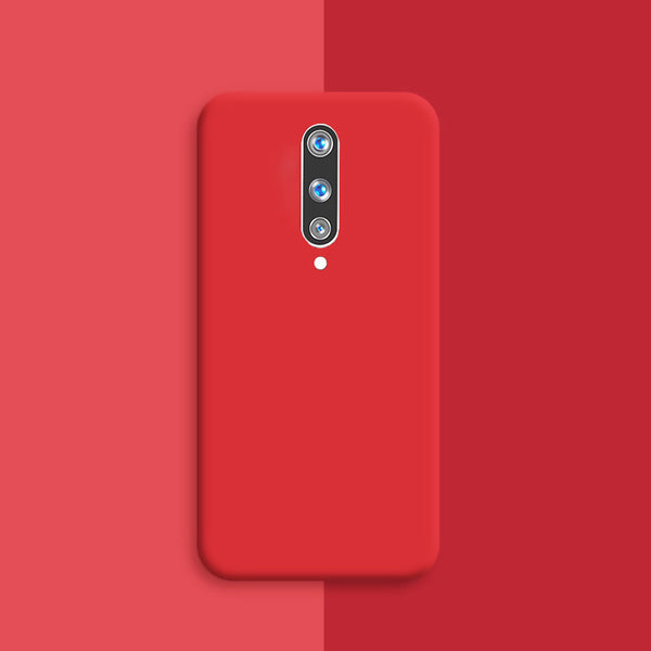 Matte Red Soft Case (OnePlus 8)