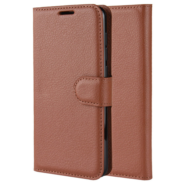 Brown Leather Wallet Case (Pixel 4/4XL)