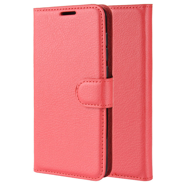 Red Leather Wallet Case (Pixel 4/4XL)