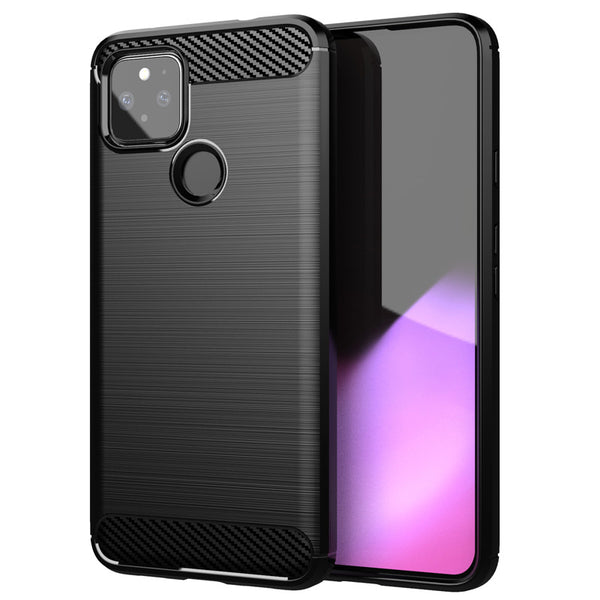Black Brushed Metal Case (Pixel 5)