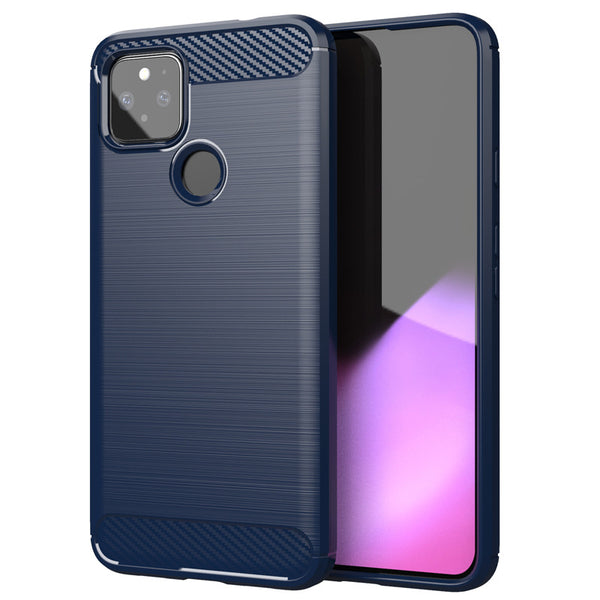 Navy Brushed Metal Case (Pixel 5)
