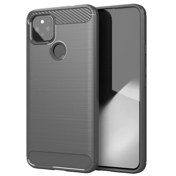 Grey Brushed Metal Case (Pixel 5)