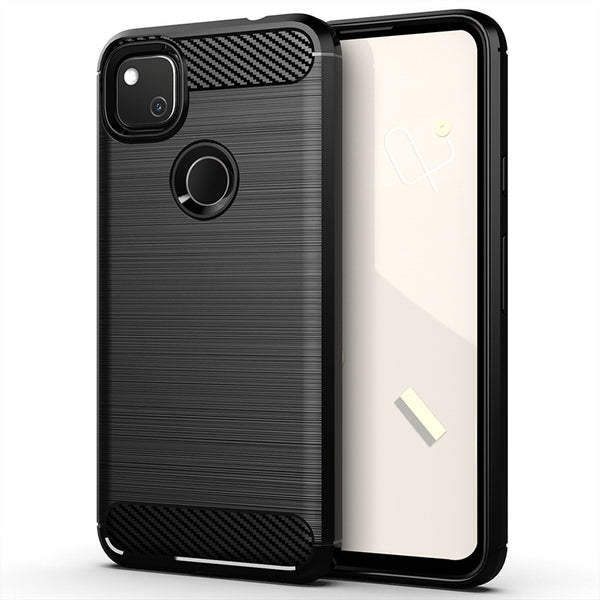 Black Brushed Metal Case (Pixel 4a)
