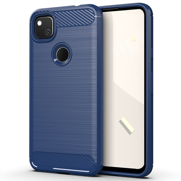 Navy Brushed Metal Case (Pixel 4a)