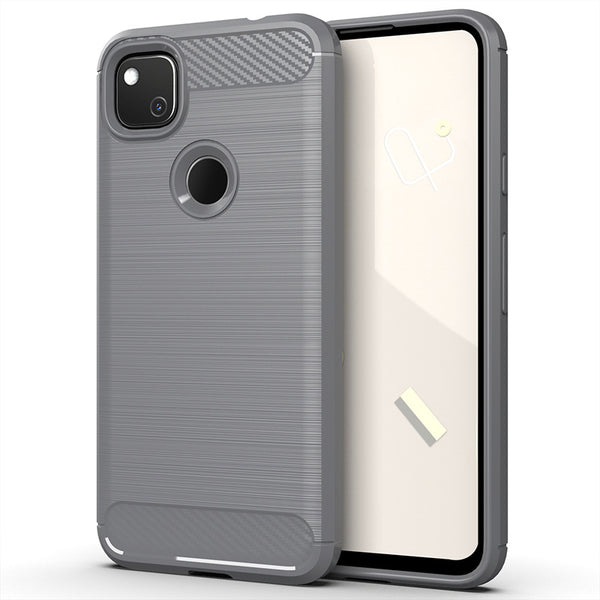 Grey Brushed Metal Case (Pixel 4a)