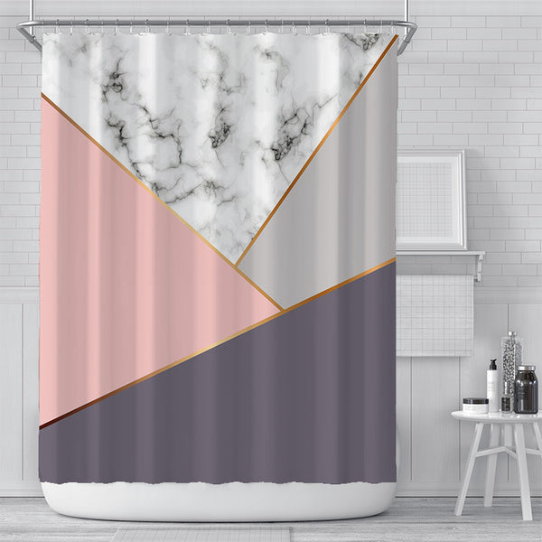 Marble Slides Shower Curtain