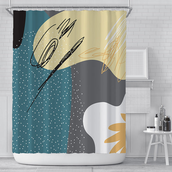 Night Side Shower Curtain