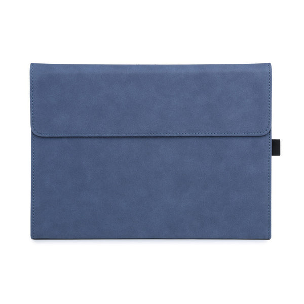 Navy Suede Folio Cover Case (Surface Pro 7)