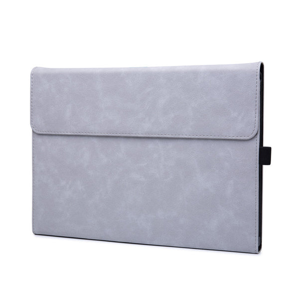 White Cloud Suede Folio Cover Case (Surface Pro 7)