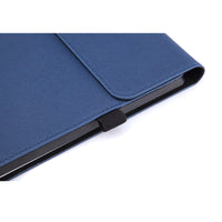 Black Cross Lattice Folio Cover Case (Surface Pro 7)