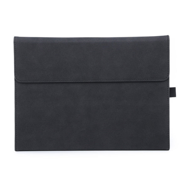 Black Suede Folio Cover Case (Surface Pro 7)