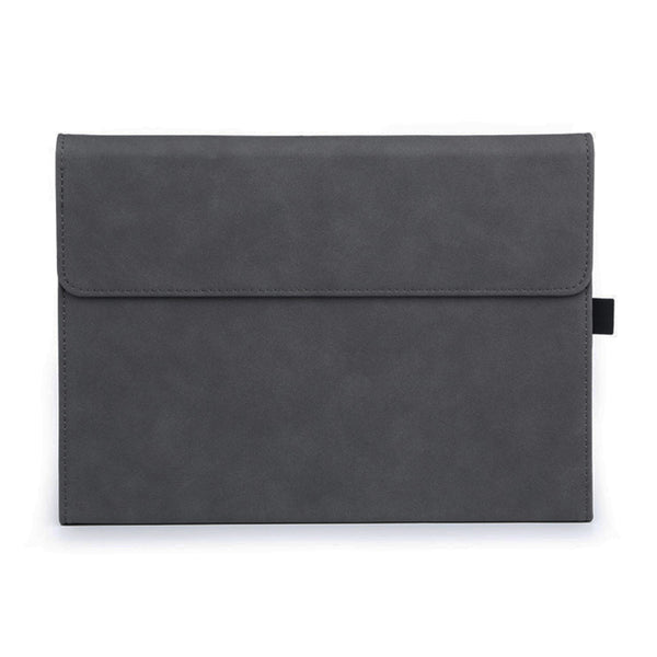 Grey Suede Folio Cover Case (Surface Pro 7)