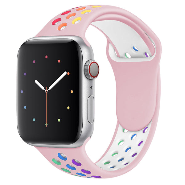 Rainbow Pink Apple Watch Strap