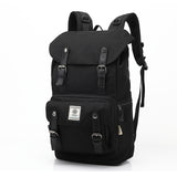 OZUKO Black Everyday Travel Backpack