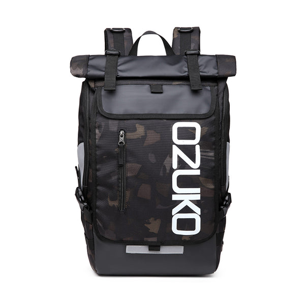 OZUKO Camo Everyday Backpack