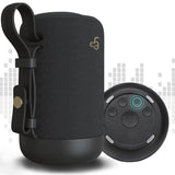 360° Black Wireless Portable Speaker