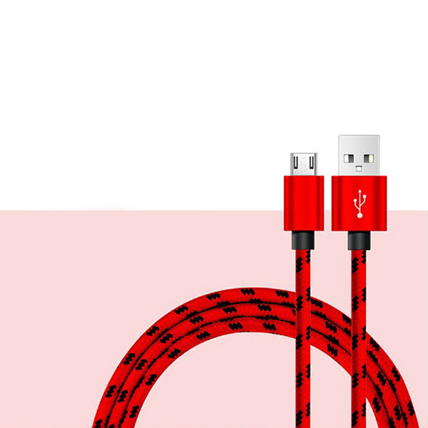 Red Micro USB Cable
