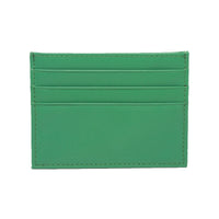 Smooth Green Card Holder