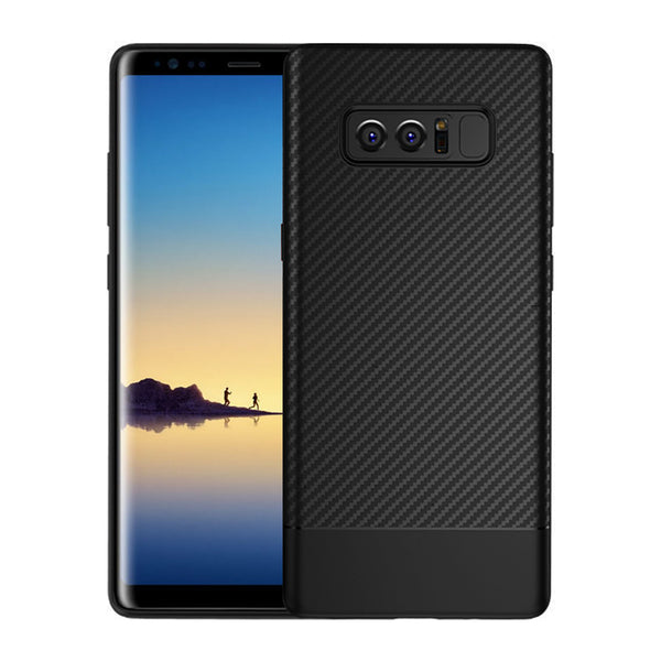 Black Carbon Fiber Case (Galaxy Note 8)