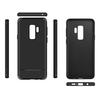 Black Carbon Fiber Case (Galaxy S9/S9+)