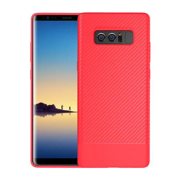 Red Carbon Fiber Case (Galaxy Note 8)