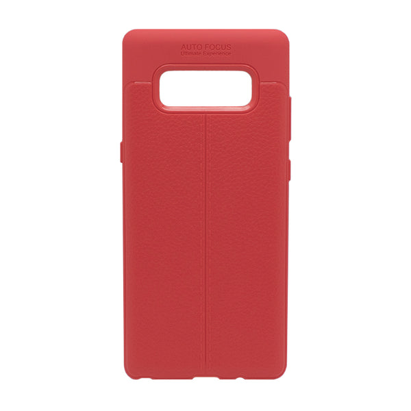 Red Leather Case (Galaxy Note 8)