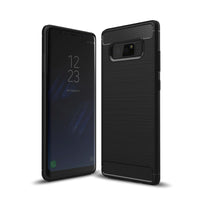 Black Brushed Metal Case (Galaxy Note 8)