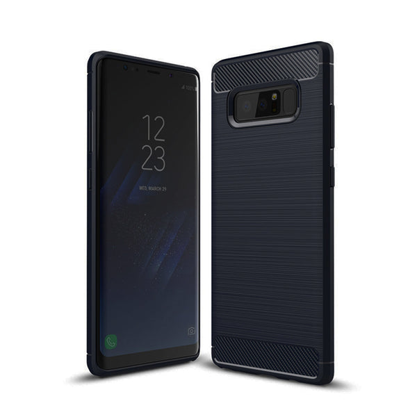 Navy Brushed Metal Case (Galaxy Note 8)
