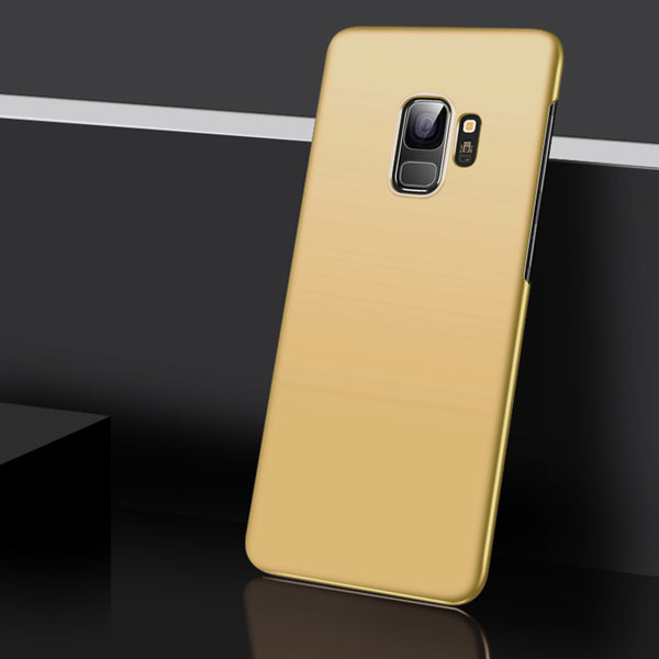 Metallic Gold Hard Case (Galaxy S9/S9+)