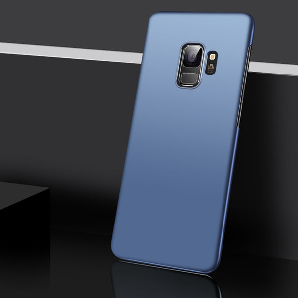 Metallic Navy Hard Case (Galaxy S9/S9+)